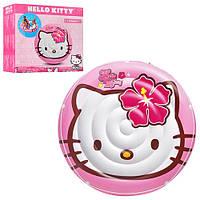 Плотик 56513 круглий, Hello Kitty, мотузка, кор., 25,5-23-9,5 см