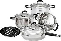 Набор посуды Calve CL-1809, 8 предметов