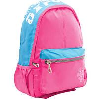 """Рюкзак підлітковий Х258 """"Oxford"""", рожевий, 31.5 * 15 * 48.5см"""