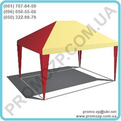 Шатёр Разборной 4х2 метра для торговли, летнего кафе, садовый шаетер.