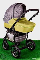 Детская коляска универсальная 2 в 1 Ammi Ajax Group Вritish Jade