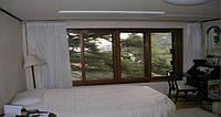 Инфракрасная панель (потолочная) GH-600c в спальне