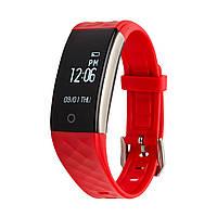 Фитнес трекер счетчик калорий Smart Wrist Band S2 HR SE Group красный