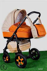 Детская коляска универсальная 2 в 1 Ammi Ajax Group Вritish AG.Br.Juice