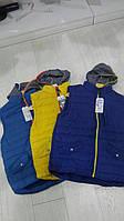 Куртка-безрукавка с капюшоном FD, хлопок, р.134-164