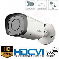 Цилиндрическая HDCVI видеокамера Dahua DH-HAC-HFW1100R-VF-S2