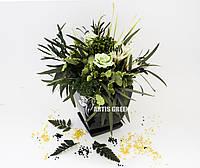 """Эко-сувениры ручной работы из стабилизированного мха растений  """"Artis Green"""", S32"""
