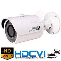 Цилиндрическая HDCVI видеокамера Dahua DH-HAC-HFW1100S
