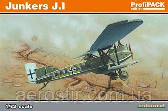 Junkers J.I 1/72 EDUARD 7046