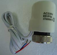 Электротермическая головка для коллектора (сервопривод под термостат) норм. открытая