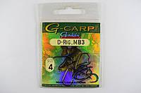 Крючки Gamakatsu G-Carp D-Rig. MB3 №4