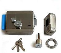Замок электромеханический  Atis Lock SSM с дополнительной защитой кнопки выхода замка от продавливания