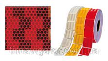 Контурная маркировка, AVERY DENNISON (красные кубики) 51мм