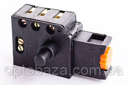 Кнопка для дрели (5 А) с фиксатором, фото 3