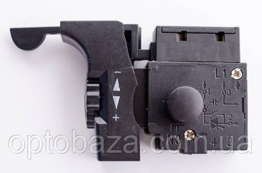 Кнопка для дрели DWT, Ворскла с реверсом, фото 2