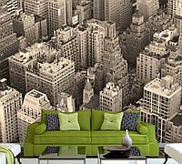 Фотообои виниловые панорама мегаполиса.