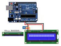Модуль подключения ЖКИ 1602