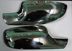 Накладки зеркал Рено Сценик 2005-2009 (2шт)