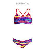 Раздельный купальник для девочек Funkita Crystal Wave FS02, фото 1