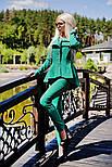 Женский стильный брючный костюм: жакет и брюки (6 цветов), фото 4
