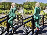 Женский стильный брючный костюм: жакет и брюки (6 цветов), фото 5