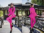 Женский стильный брючный костюм: жакет и брюки (6 цветов), фото 6
