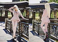 Женский стильный брючный костюм: жакет и брюки (6 цветов)