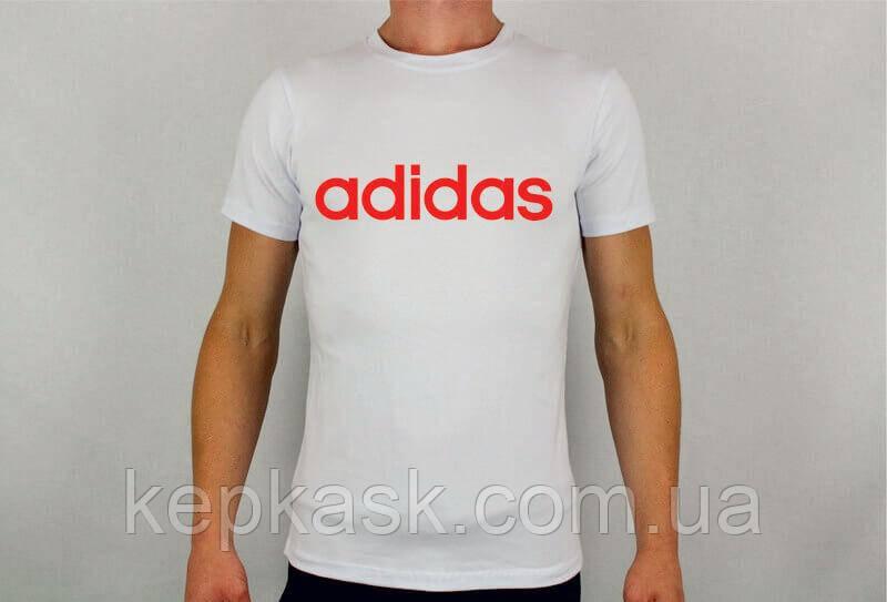 Футболка Adidas white
