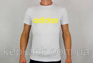 Футболка Adidas white, фото 3