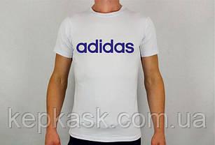 Футболка Adidas white, фото 2