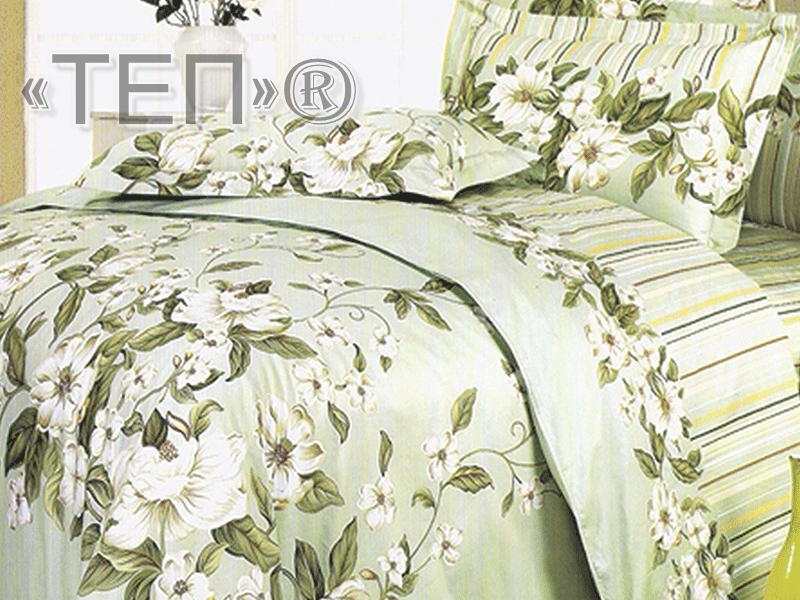 Полуторный комплект постельного белья Жасмин