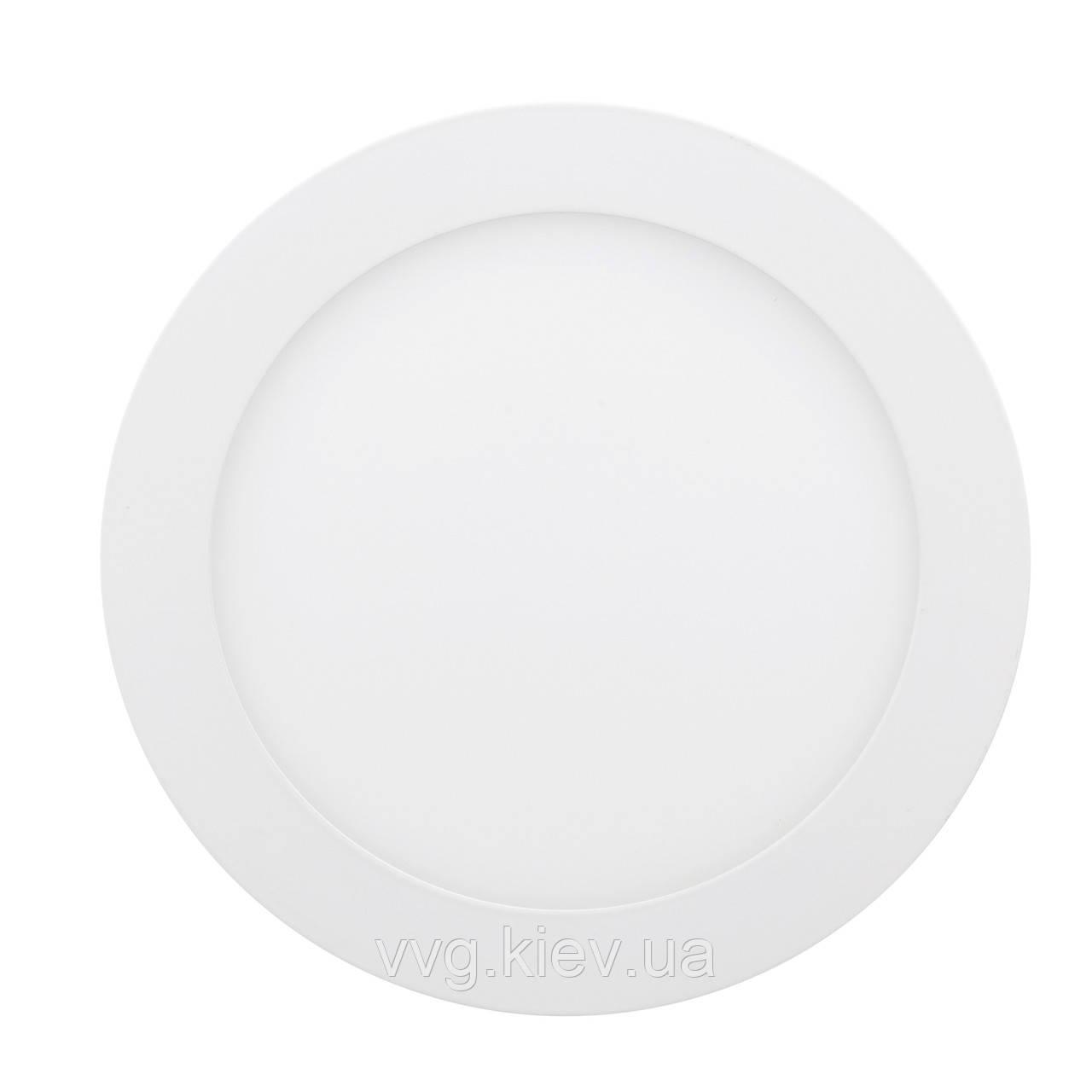 Точечный светильник встраиваемый 12W 6400К LED-R-170-12 ЕВРОСВЕТ