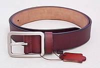 Кожаный женский ремень светло-коричневый T.I.A. , фото 1