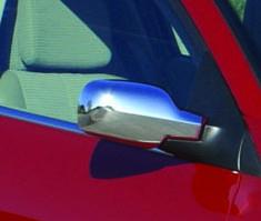 Пластиковые накладки на зеркала Renault Scenic 2005-2009 (2шт)