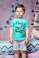 Пижама для мальчика летняя