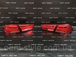 Led фонари оптика Mitsubishi Lancer X 2007+ EVO