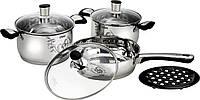 Набор посуды Calve CL-1847, 7 предметов