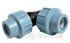Отвод компрессионный соединительный Unidelta 32x32