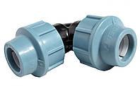Отвод компрессионный соединительный Unidelta 90x90
