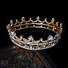 Корона кругла ТІНА, корона на голову в каменях, дитяча корона, Прикраси, фото 3