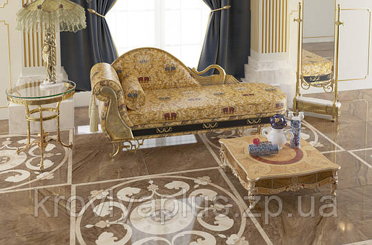 Golden Tile - напольная коллекция Лувр / Louvre, фото 2