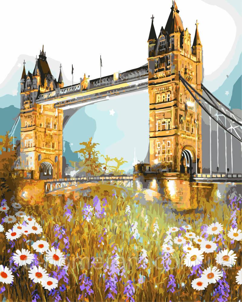 Картины по номерам Лондон Тауэрский мост в цветах (BRM3286 ...