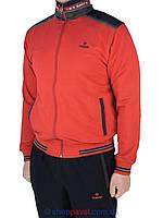Трикотажный спортивный костюм Fabiani 15ВЕ3Е3757 red красного цвета