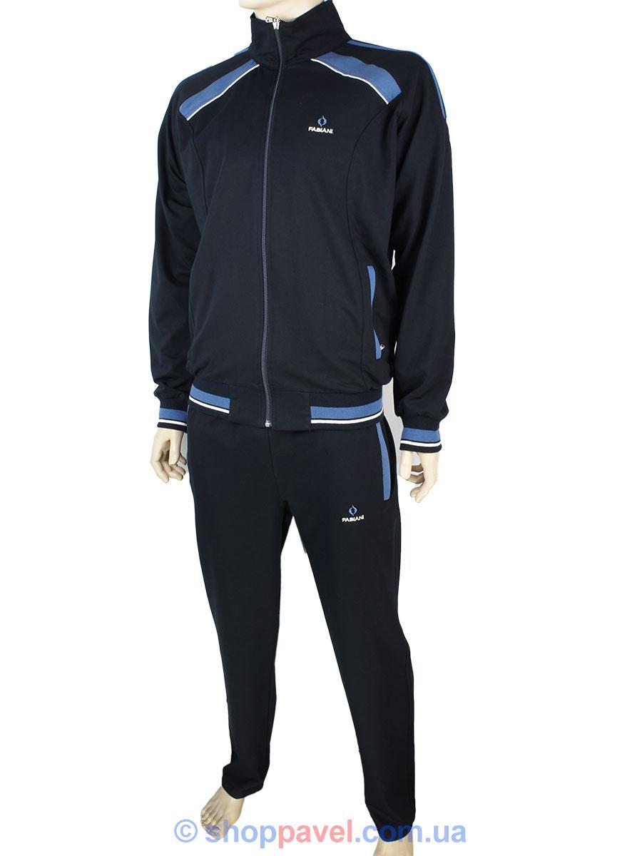 4ff49ddf Комбинированный трикотажный мужской спортивный костюм Fabiani 13ВЕ3Е3739 Н  - Магазин мужской одежды