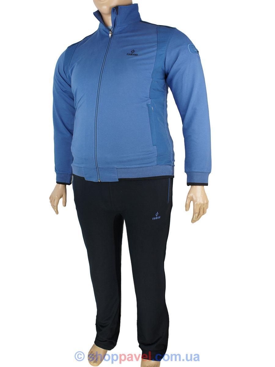3e20d448 Мужской спортивный костюм большого размера Fabiani 13ВЕ3Е3751 В D.Blue синий