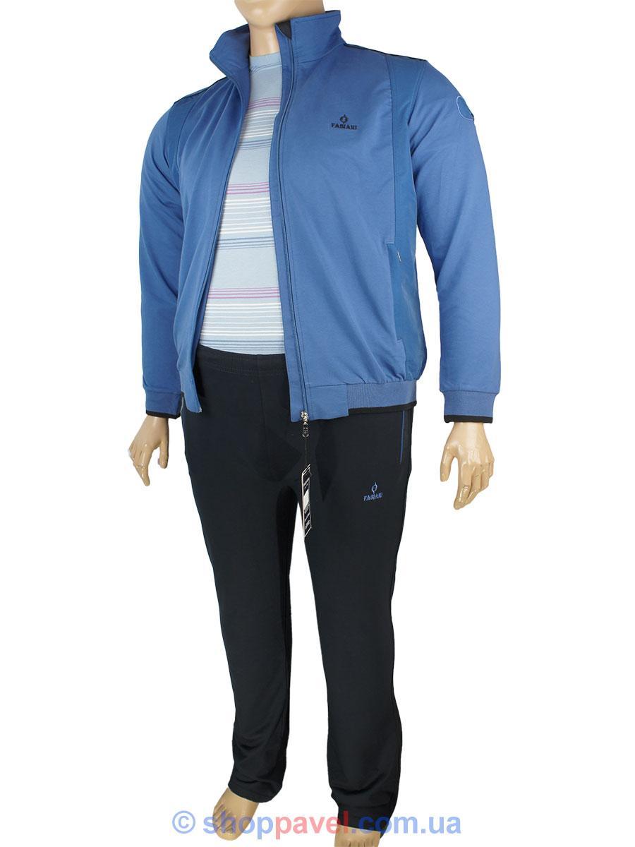 712af998 Мужской спортивный костюм большого размера Fabiani 13ВЕ3Е3751 В D.Blue  синий, цена 1 820 грн., купить Лубны — Prom.ua (ID#567084757)