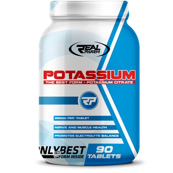 Real Pharm Potassium 90 tabs реал фарм калий