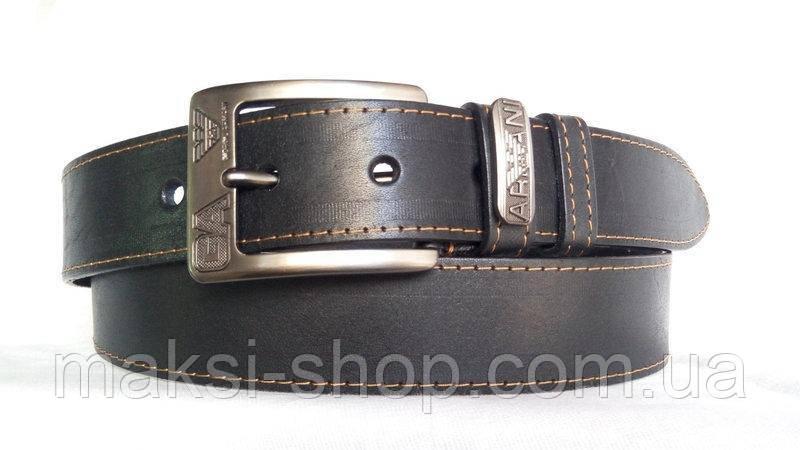 Кожаный ремень с пряжкой матовой ремни кожаные форменные