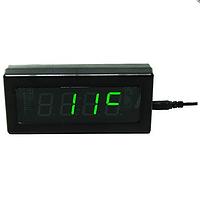 Электронные настольные часы Caixing CX 919 (green, blue)