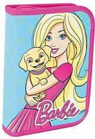 Пенал с 2-мя отворотами 1 Вересня Barbie mint 531370